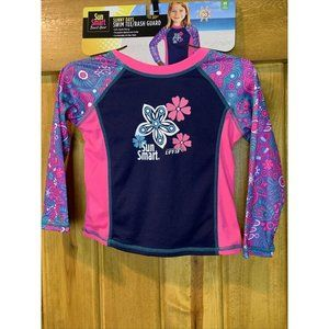 Sun Smart 2 to 4 Yr Rash Guard Months Swim Tee Sur